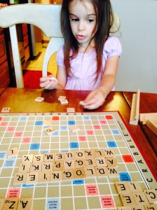 Scrabble or CRAZY WORDS!