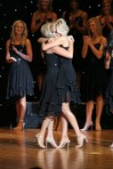 Our baby girl having her moment at Miss Arkansas.