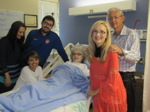 The last time all the kids were together before she passed away.