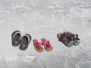 Footprints....