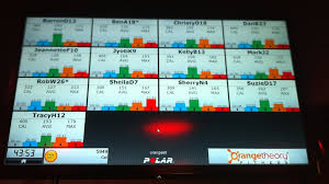 This is a sample board.  You goal is to stay in the green and orange zone...the zones where you get the biggest fat burning benefit.